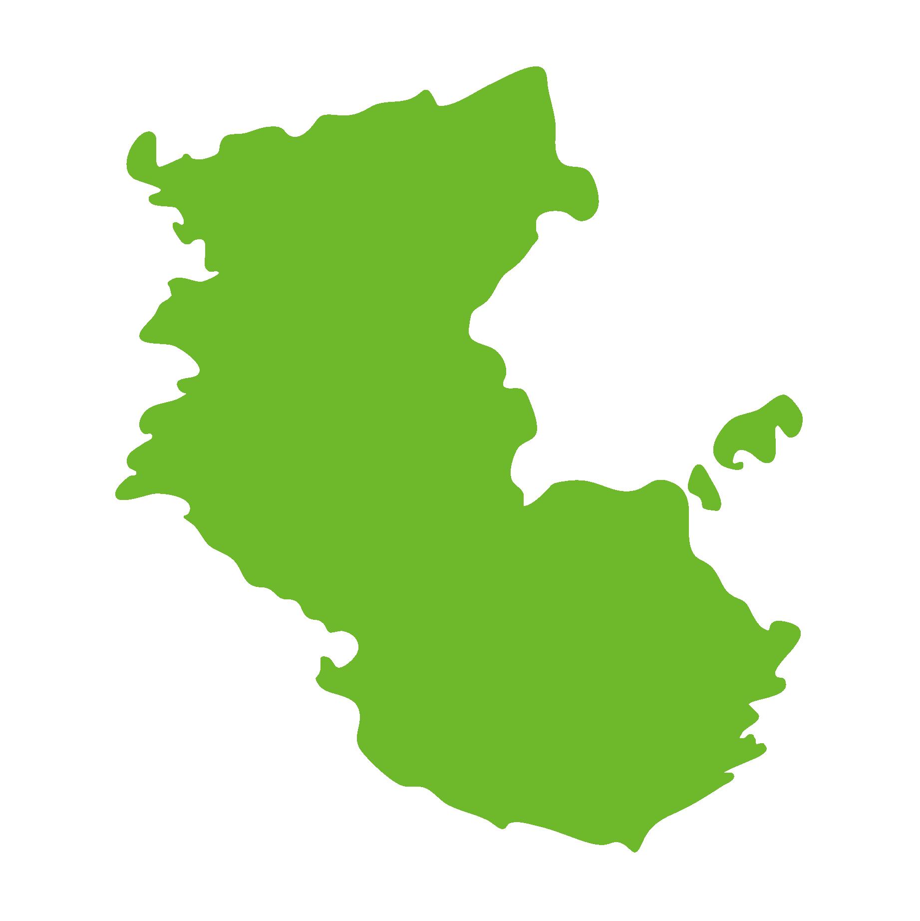 和歌山県の地図
